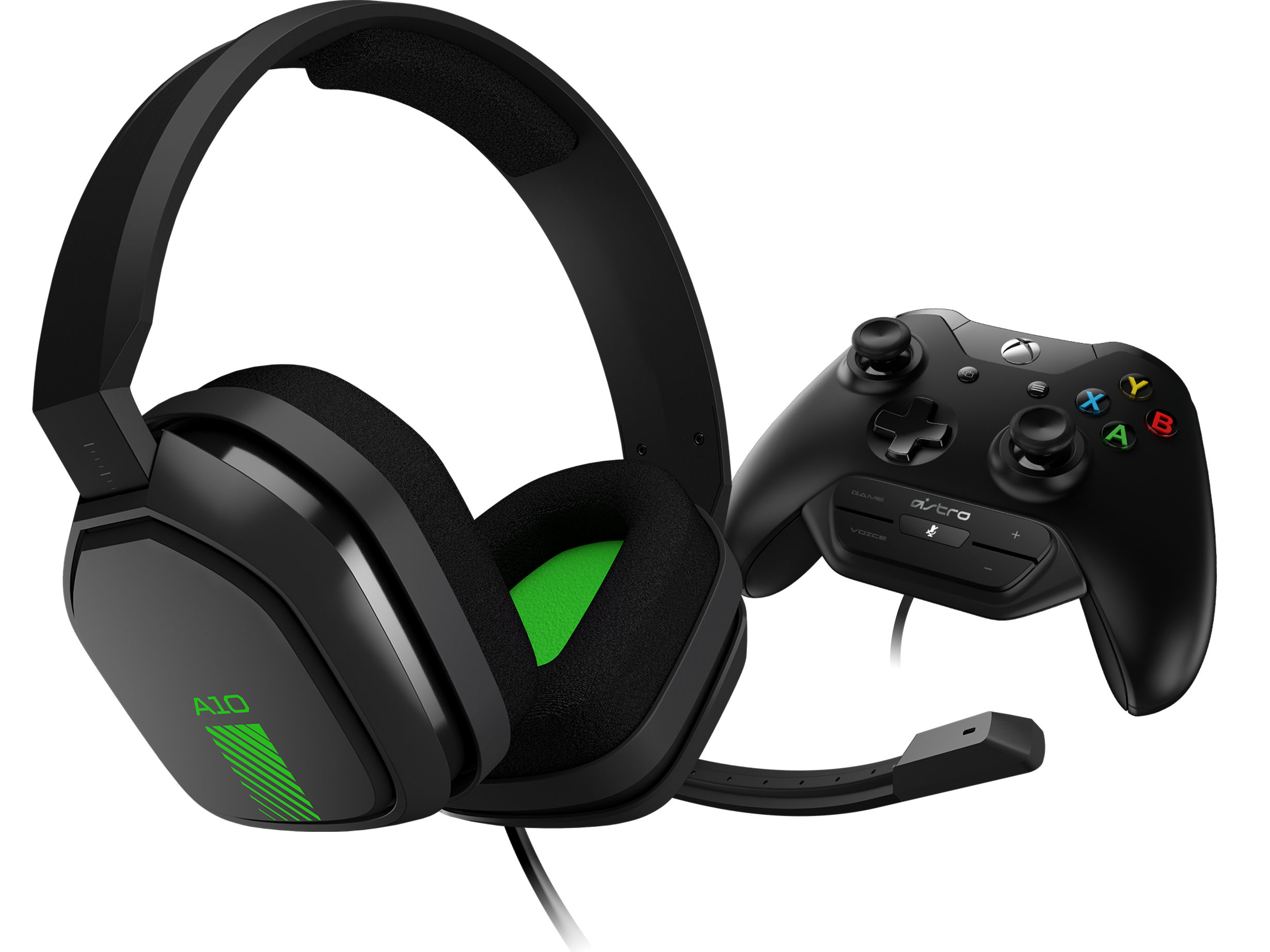 ASTRO Gaming A10 Headset + MixAmp M60 - Grey/Green Xbox