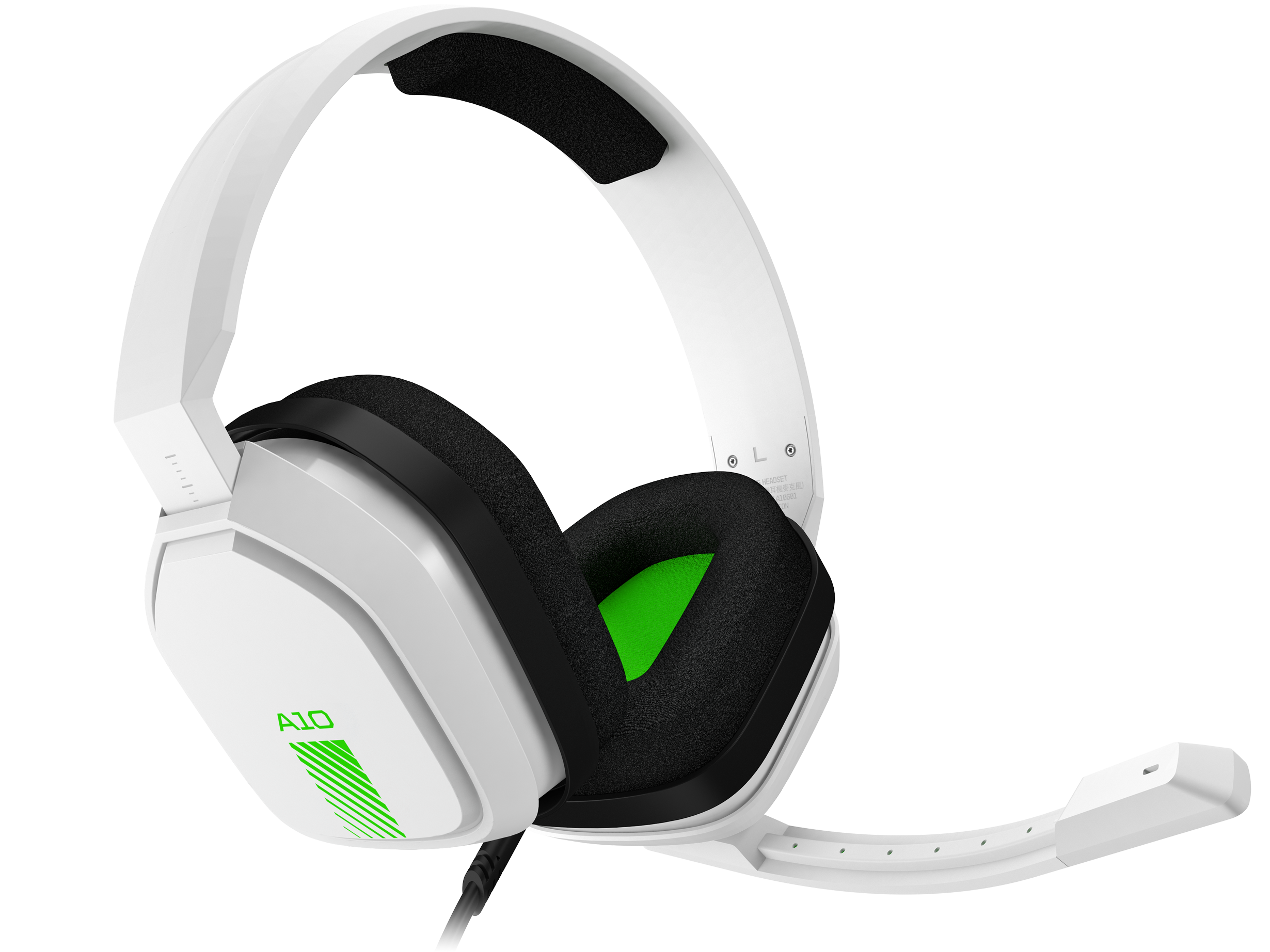 ASTRO Gaming A10 Headset - White/Green